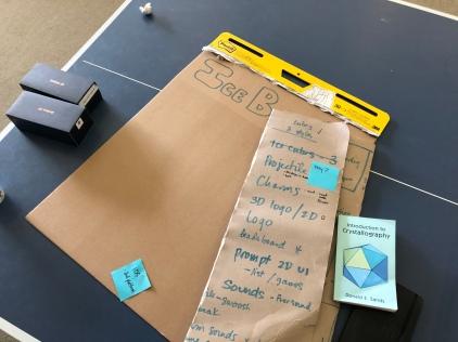 cardboard brainstorm